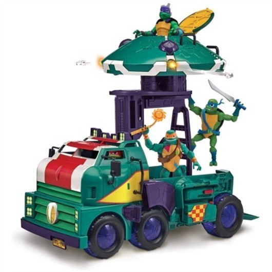 Rise og The Teenage mutant ninja turtles tank group vehicle