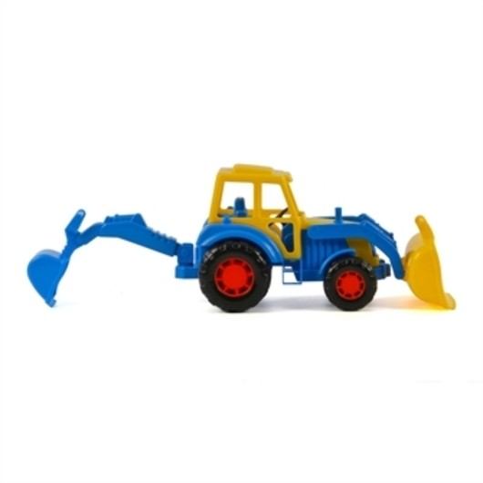 Polesie Tractor with Front Loader Blue