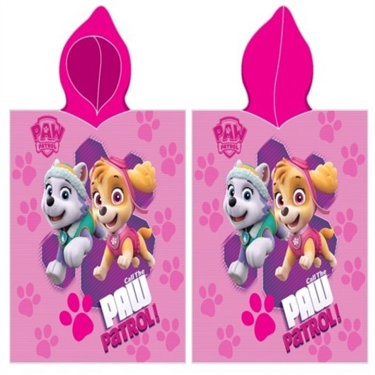 Paw Patrol Poncho - 100 procent bomuld