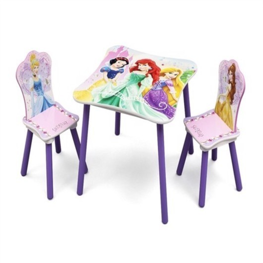 Disney princess table and chairs