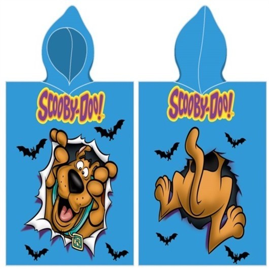 Scooby-Doo Poncho - 100 procent bomuld
