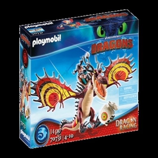 Playmobil - Dragon Racing: Snotlout and Hookfang  (70731)