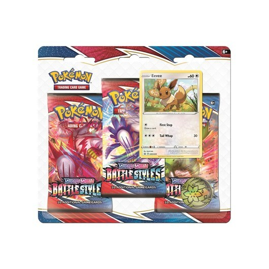 Pokemon Poke Blister 3P SWSH5 - Sword  Shield Battle Styles