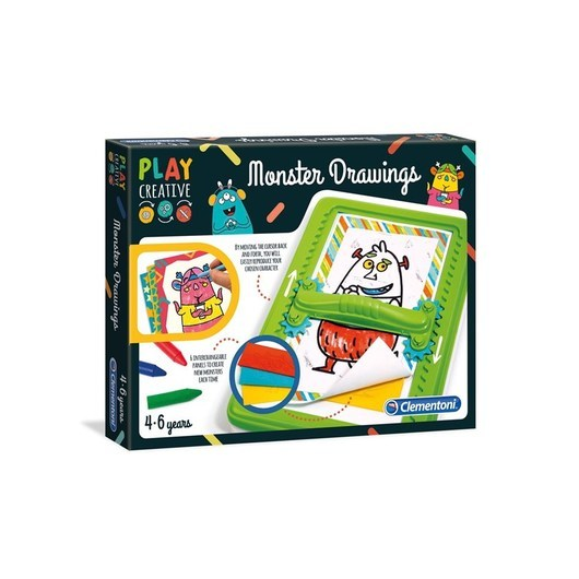 Clementoni Magic Drawing Board - Monsters