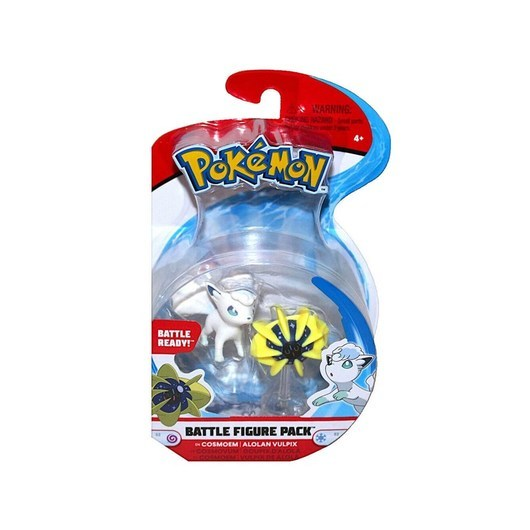 Pokemon Battle Figure Cosoem & Alolan 2in Mini Fig -