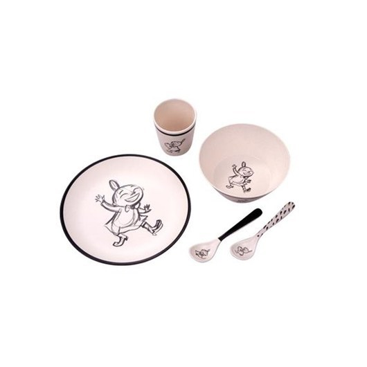 Barbo Toys Moomin Little My Bamboo Melamine 5 pcs package (pl - Care & Meals