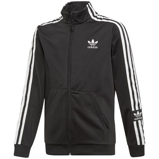 adidas Originals Cardigan - Lock Up - Svart/Vit
