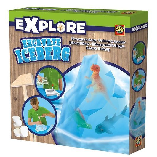SES Creative - Explore - Excavate Iceberg