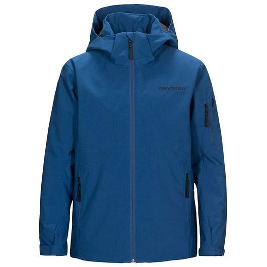 Peak Performance Vinterjacka - Maroon - True Blue
