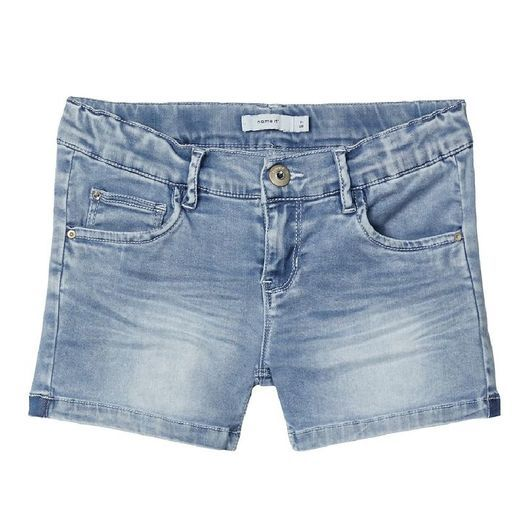 Name It Shorts - NkfSalli - Medium Blue Denim