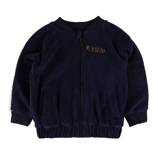 Mini Rodini Cardigan - Piano - Navy