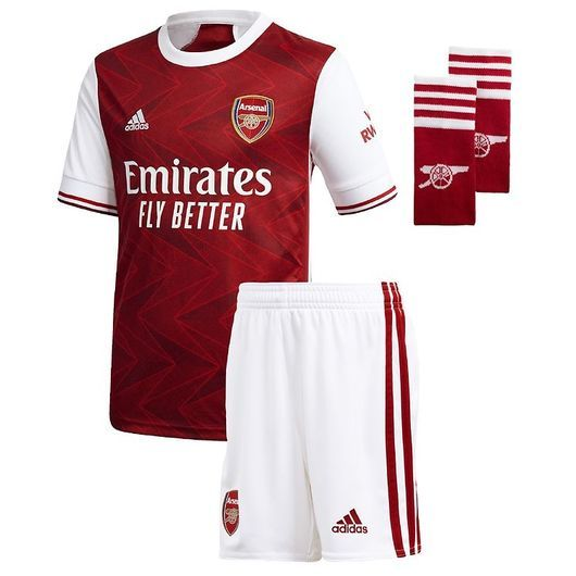 adidas Performance Hemmaplan Set - Arsenal - Röd/Vit