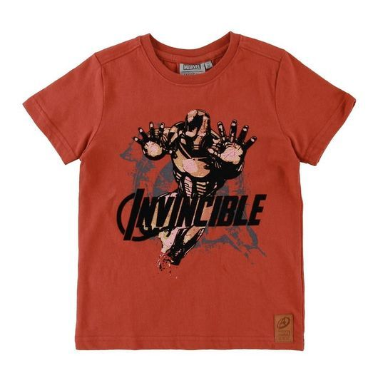 Wheat Marvel T-shirt - Invinceble - Paprika