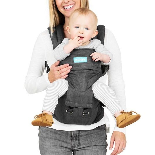 Moby Bärsele - 2-in-1 - Hipseat & Carrier - Grå
