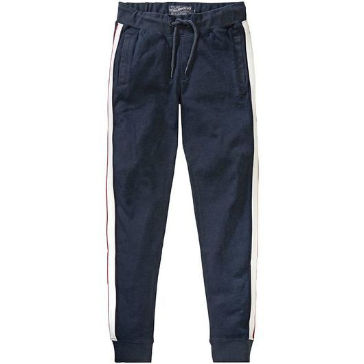 Petrol Industries Sweatpants - Deep Navy m. Ränder