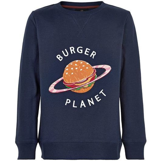 The New Sweatshirt - Russel - Marin Blazer m. Burgare