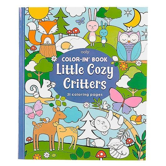 Ooly Målarbok - Little Cosy Critters