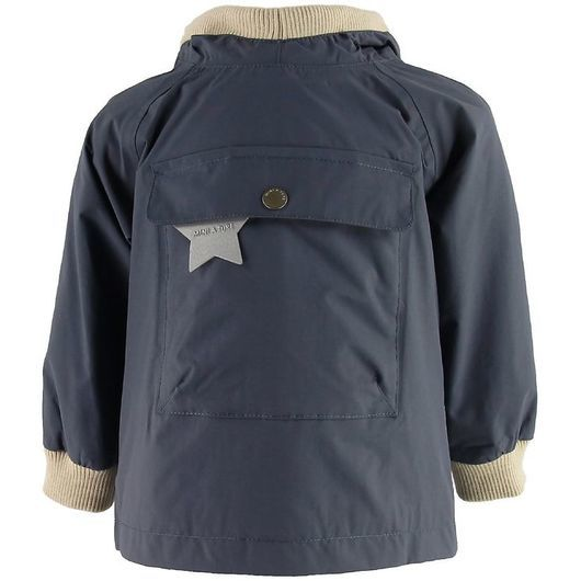 Mini A Ture Sommarjacka - Baby Vito Anorak - Ombre Blue