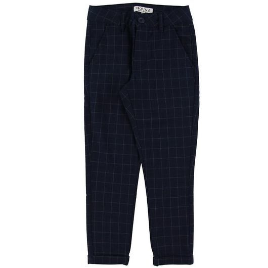 Hound Chinos - Fashion Chino Checks - Marinblå